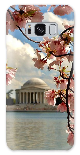 Basin Blossoms Galaxy Case by William Bartholomew