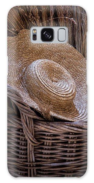 Basket Of Straw Galaxy Case