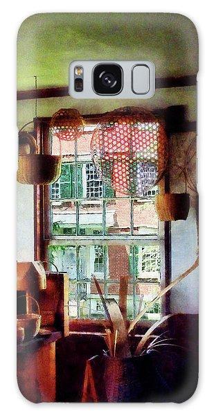 Basket Shop Galaxy Case by Susan Savad
