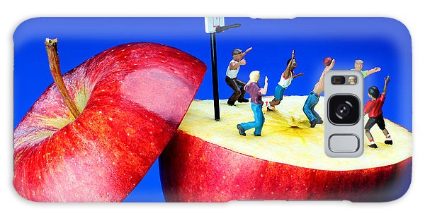 Basketball Games On The Apple Little People On Food Galaxy Case