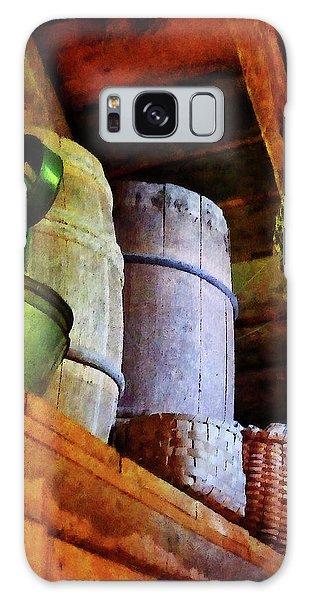 Baskets And Barrels In Attic Galaxy Case by Susan Savad