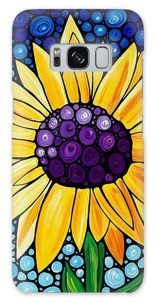 Beautiful Galaxy Case - Basking In The Glory by Sharon Cummings