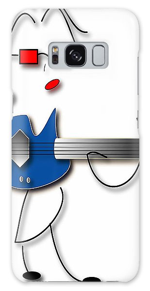 Bass Guitar Girl Galaxy Case by Marvin Blaine