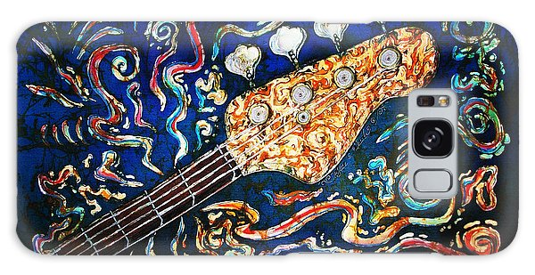 Country Living Galaxy Case - Bass Guitar  by Sue Duda