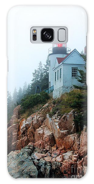 Bass Harbor Head Lighthouse Galaxy Case