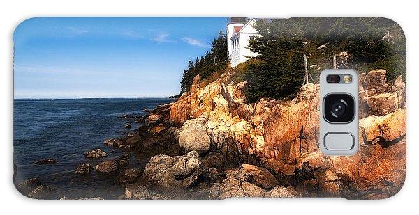 Bass Harbor Lighthouse Galaxy Case