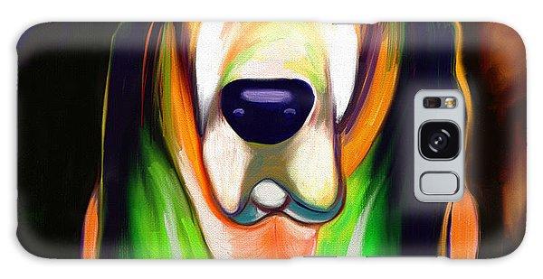 Basset Hound  Galaxy Case by Julianne  Ososke