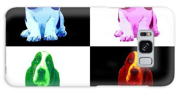 Basset Hound Puppy 4 Colors Galaxy Case