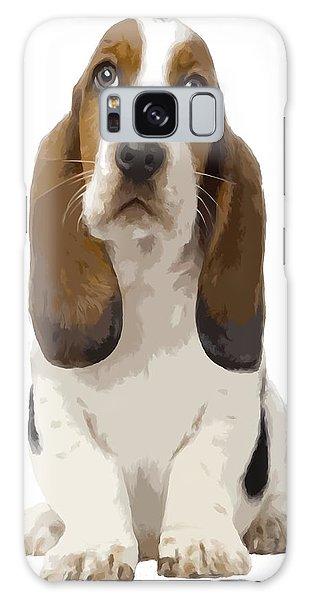 Basset Hound Puppy Galaxy Case