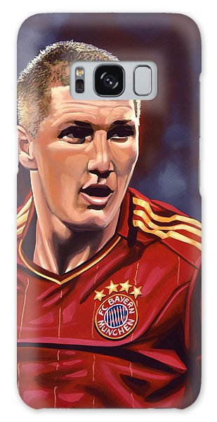 Sportsman Galaxy Case - Bastian Schweinsteiger by Paul Meijering
