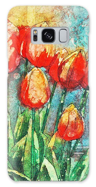 Batik Tulips Galaxy Case