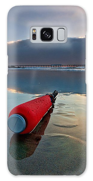 Batter-ed By The Sea Galaxy Case by Peter Tellone