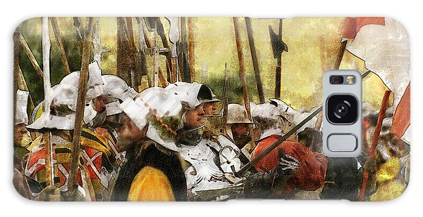 Battle Of Tewkesbury Galaxy Case by Ron Harpham