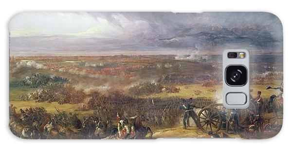 Cannon Galaxy Case - Battle Of Waterloo, 1815, 1843 by Sir William Allan
