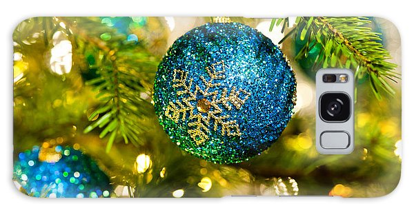 Bauble In A Christmas Tree  Galaxy Case