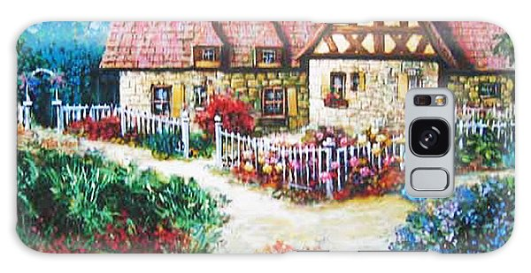 Bavarian Cottage Galaxy Case