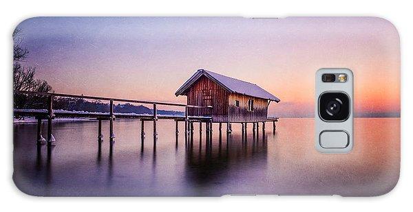 Bavarian Winter Wonderland Galaxy Case