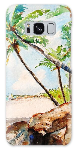 Bavaro Tropical Sandy Beach Galaxy Case