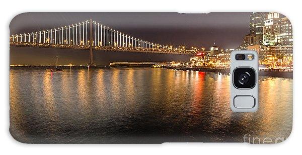 Bay Bridge Lights And City Galaxy Case