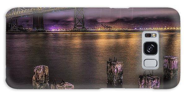 Bay Bridge Lights Galaxy Case