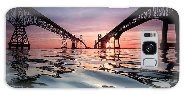 Architecture Galaxy Case - Bay Bridge Reflections by Jennifer Casey