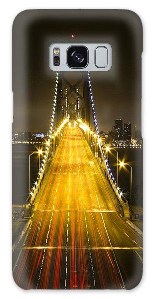 Bay Bridge Traffic Galaxy Case