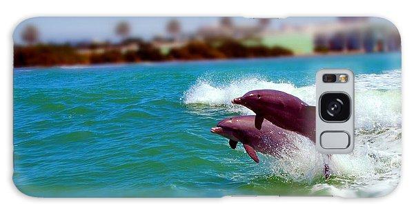 Bay Dolphins Galaxy Case