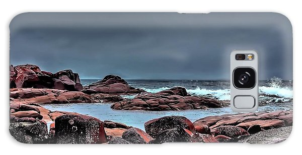 Bay Of Fires 3 Galaxy Case by Wallaroo Images
