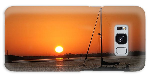 Bay Sunrise Galaxy Case
