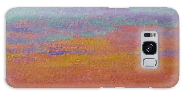 Bay Sunset Galaxy Case by Gail Kent