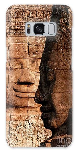 Bayon Faces 02 Galaxy Case