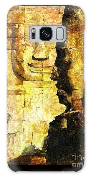 Bayon Khmer Temple At Angkor Wat Cambodia Galaxy Case