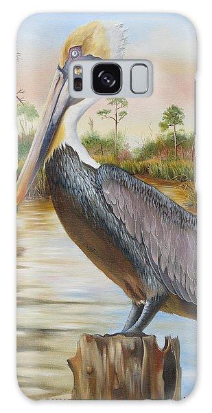 Bayou Coco Point Pelican Galaxy Case