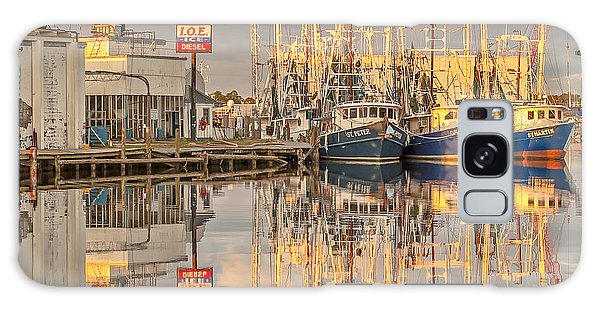 Bayou La Batre' Al Shrimp Boat Reflections 39 Galaxy Case