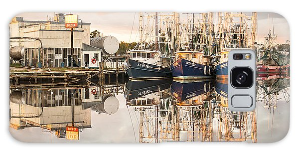 Bayou La Batre' Al Shrimp Boat Reflections 40 Galaxy Case