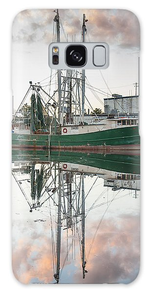 Bayou La Batre' Al Shrimp Boat Reflections 42 Galaxy Case