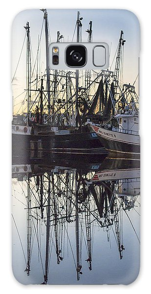 Bayou La Batre' Al Shrimp Boat Reflections 43 Galaxy Case
