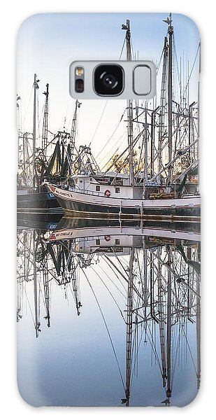 Bayou La Batre' Al Shrimp Boat Reflections 44 Galaxy Case