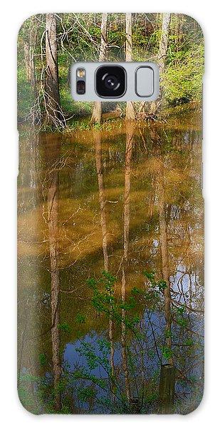 Bayou Reflections Galaxy Case by Connie Fox