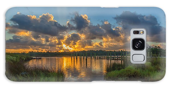 Bayou Sunrise Galaxy Case by Brian Wright