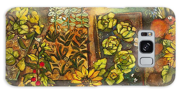 Calendar Galaxy Case - Backyard Organic Garden by Jen Norton