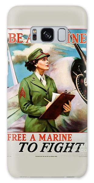 Be A Marine - Free A Marine To Fight Galaxy Case