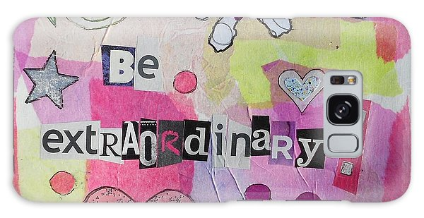 Be Extraordinary Galaxy Case