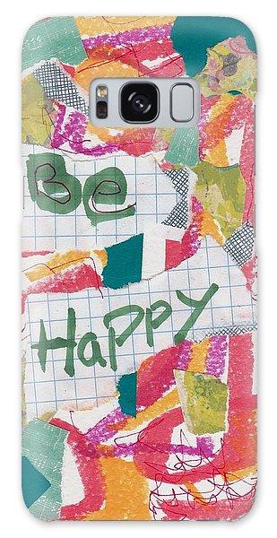 Be Happy Galaxy Case