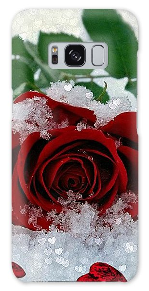 Be Mine Galaxy Case by Morag Bates