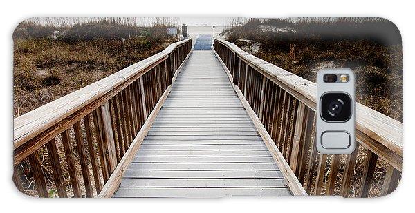 Beach Access Hilton Head Galaxy Case