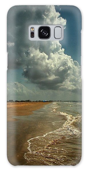 Beach And Clouds Galaxy Case