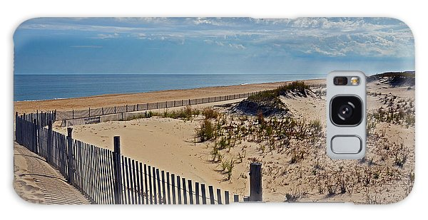 Beach At Cape Henlopen Galaxy Case