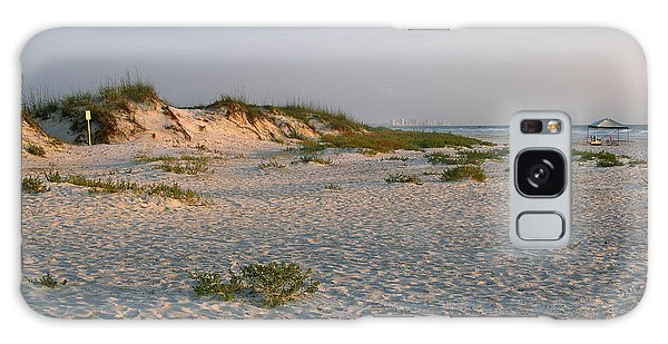 Beach At Sunrise Galaxy Case