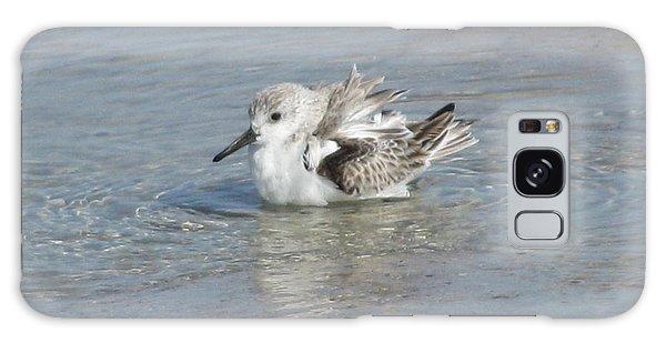 Beach Bird Bath 4 Galaxy Case
